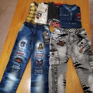 Bundle of boys 6 pieces